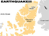 Ellesmere Island Rocked by Powerful Earthquake