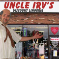 Uncle Irv's Discount Lingerie Valentine's Day Specials!
